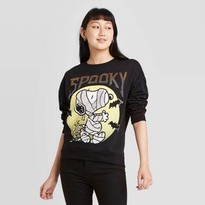 Spooky Snoopy Peanuts Crewneck Sweater